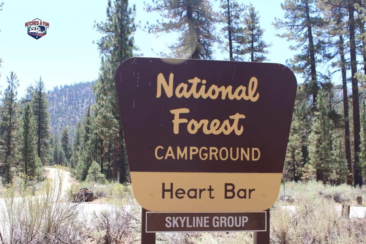 Heart Bar Campground, Big Bear Lake, CA
