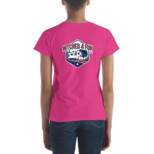 Hitched4fun.com T-Shirt Rear