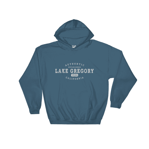 Authentic Lake Gregory Hooded Sweatshirt