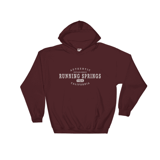 Authentic Running Springs Hooded Sweatshirt