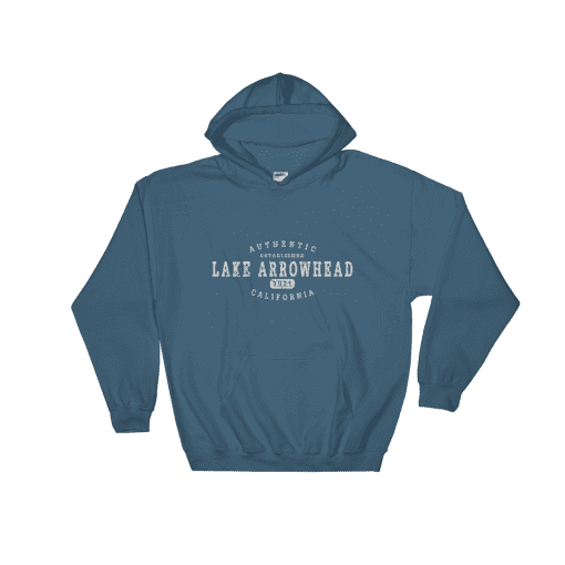 Authentic Lake Arrowhead Hooded Sweatshirt