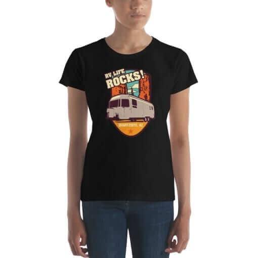 RV Destination Quartzsite Life Rocks T-Shirt