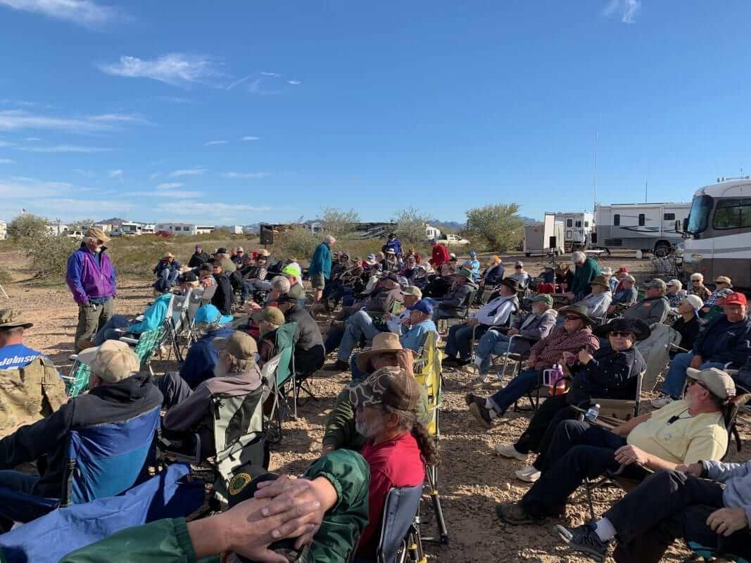 Quartzfest 2019 Evening Gathering Southern View