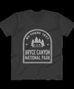 RV There Yet? Bryce Canyon National Park V-Neck (Men's) Black