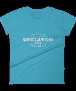 Authentic Buellton T-Shirt (Women's) Caribbean Blue
