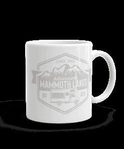 RV Destination Mammoth Lakes Camp Mug 11oz Handle Right