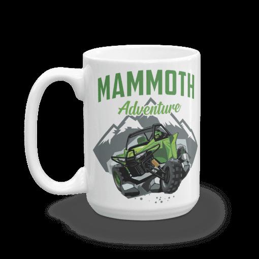 ATV/UTV Mammoth Lakes Camp Mug 15 oz Handle Left