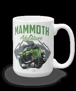 ATV/UTV Mammoth Lakes Camp Mug 15 oz Handle Right
