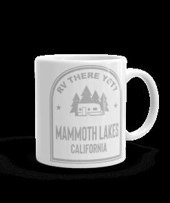 RV There Yet? Mammoth Lakes Camp Mug 11oz Handle Right