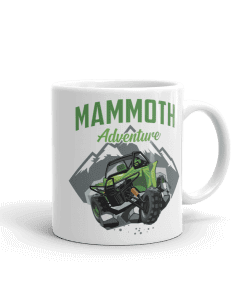 ATV/UTV Mammoth Lakes Camp Mug 11 oz Handle Right