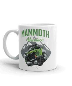 ATV/UTV Mammoth Lakes Camp Mug 11 oz Handle Left