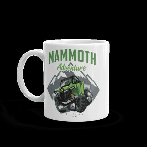 ATV/UTV Mammoth Lakes Camp Mug 11 oz Handle Left