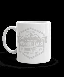 RV Destination Mammoth Lakes Camp Mug 11oz Handle Left