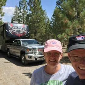 Mammoth Lakes T-Shirts at Glass Creek Campground