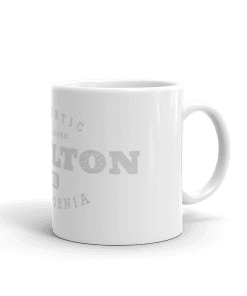 Authentic Buellton Camp Mug 11oz Handle Right