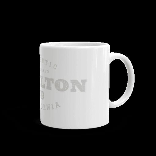 Authentic Buellton Camp Mug 11oz Handle Right