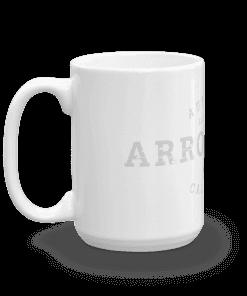 Authentic Arrowbear Camp Mug 15oz Handle Left
