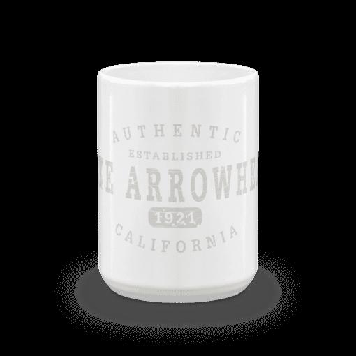 Authentic Lake Arrowhead Camp Mug 15oz End