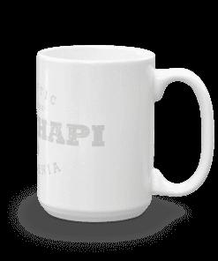 Authentic Tehachapi Camp Mug 15oz Handle Right