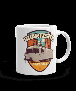 RV Destination Quartzsite Airstream Camp Mug 11 oz Handle Right