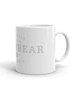 Authentic Arrowbear Camp Mug 11oz Handle Right
