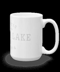 Authentic Big Bear Lake Camp Mug 15oz Handle Right