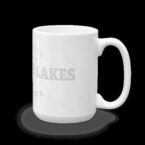 Authentic Mammoth Lakes Camp Mug 15oz Handle Right