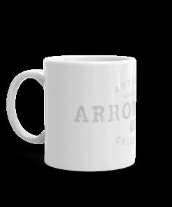 Authentic Arrowbear Camp Mug 11oz Handle Left