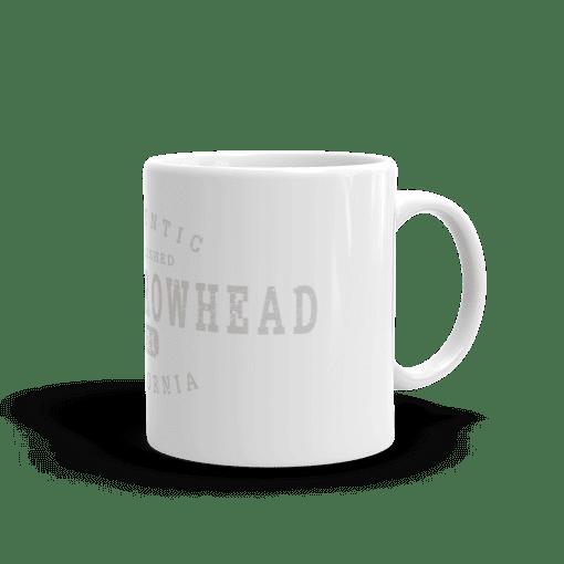 Authentic Lake Arrowhead Camp Mug 11oz Handle Right