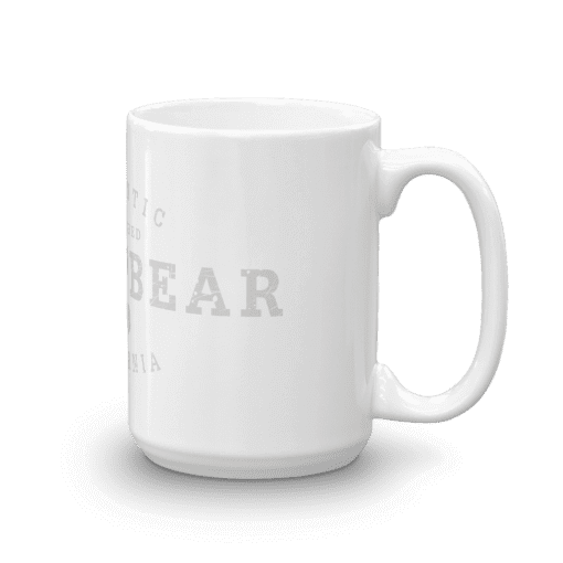 Authentic Arrowbear Camp Mug 15oz Handle Right