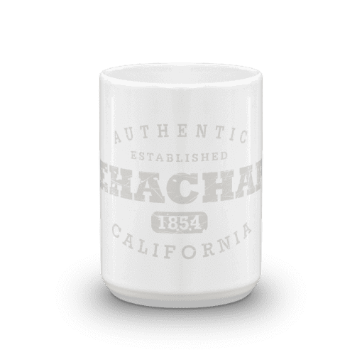 Authentic Tehachapi Camp Mug 15oz End