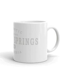 Authentic Running Springs Camp Mug 11oz Handle Right