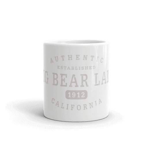 Authentic Big Bear Lake Camp Mug 11oz End