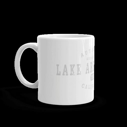 Authentic Lake Arrowhead Camp Mug 11oz Handle Left