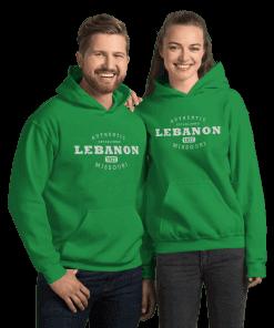 Authentic Lebanon Missouri Hoodie (Unisex)