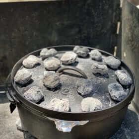Apple Spice Cobbler Cooking.